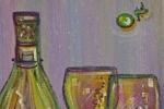 fein_wine bottle and glasses