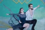 Skaters-Acrylic-on-Canvas