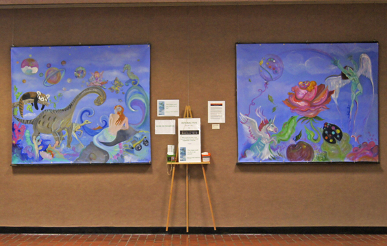Sheila Fein Fantasy Pop Interactive Paintings